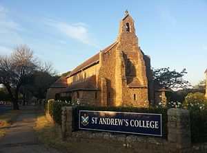 St. Andrew's College, Grahamstown - Chapel, St Andrew's College, Somerset Street, Grahamstown