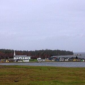 Chapel Island (Canada) - Chapel Island, Potlotek First Nation, Cape Breton, Nova Scotia.