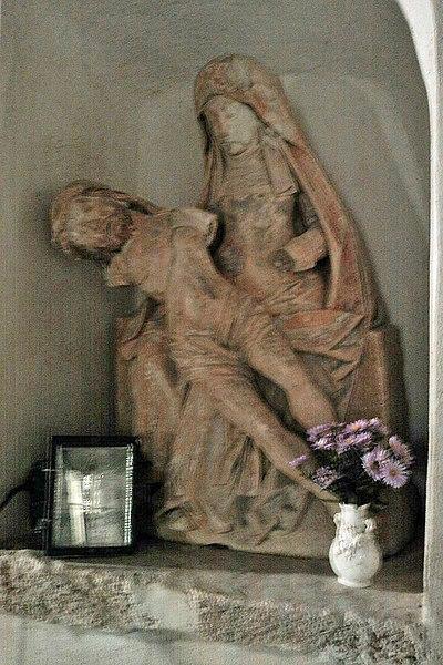 Vierge de Pitié (Xve), objet classé