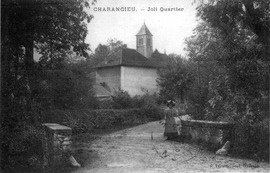 A view of Charancieu in 1914