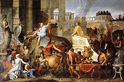Charles Le Brun: Alexander Entering Babylon
