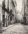 Charles Marville, Rue du Jardinet, ca. 1853–70.jpg