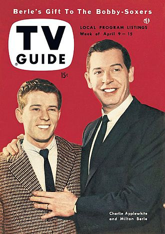 Charlie Applewhite - TV Guide cover for April 9, 1954