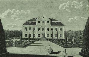 Charlottenlund Palace - Charlottenlund in 1744