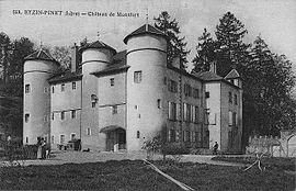 The Chateau of Montfort in the early 20th century