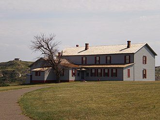 "Marquis de Morès - The ""Chateau de Mores"" in Medora, North Dakota"