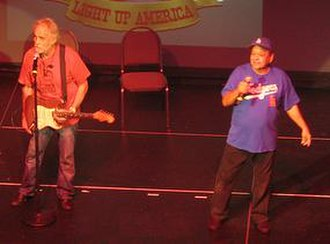"Cheech & Chong - Tommy Chong and Richard ""Cheech"" Marin in 2009"