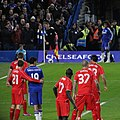 Chelsea 1 lLiverpool 0 (2-1 agg) Capital One Cup semi final 2nd leg On our way to Wembley! (15768333164).jpg