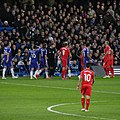 Chelsea 1 lLiverpool 0 (2-1 agg) Capital One Cup semi final 2nd leg On our way to Wembley! (15770753343).jpg