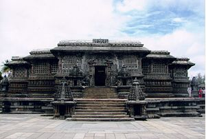 Vishnuvardhana - Chennakeshava Temple commissioned by Vishnuvardhana, Vesara architecture at Belur