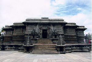 Vishnuvardhana - Chennakeshava Temple commissioned by Vishnuvardhana, Vesara architecture at Belur