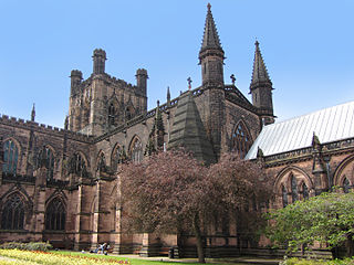 Chester Cathedral Church in Cheshire, United Kingdom