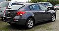 Chevrolet Cruze – Heckansicht, 23. Juli 2011, Mettmann.jpg