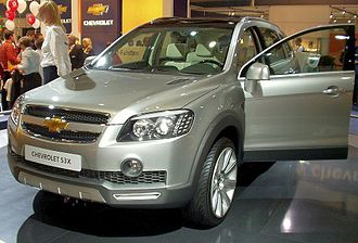 Chevrolet Captiva - 2004 Chevrolet S3X concept