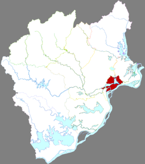 Daguan District District in Anhui, Peoples Republic of China