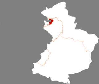 Zhanqian District District in Liaoning, Peoples Republic of China