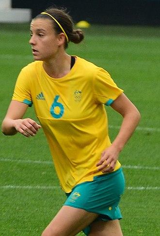 Chloe Logarzo - Logarzo playing for Australia in 2016
