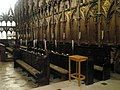 Choir stalls at Winchester Cathedral - geograph.org.uk - 1164125.jpg