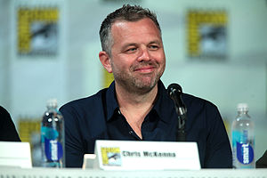 Chris McKenna (writer) - McKenna on a Community panel at the San Diego Comic-Con International in July 2014.
