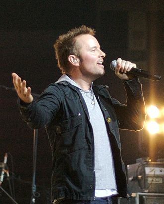 Chris Tomlin - Tomlin performing at a concert in Johnson City, Tennessee