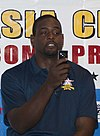 Chris Webber with Flip video camera NBA Asia Challenge 2010.jpg