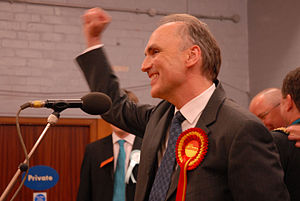Chris Williamson on his election in 2010. Phot...