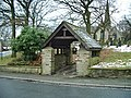 Christ Church, Friezland, Grasscroft, Lychgate - geograph.org.uk - 1160225.jpg