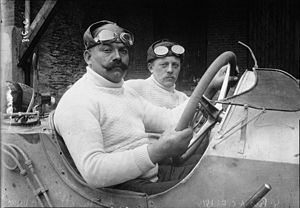 1914 French Grand Prix - Winner Christian Lautenschlager