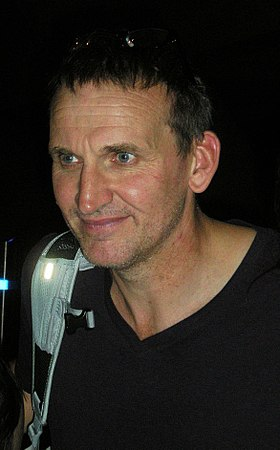 Christopher Eccleston, l'interprète du 9e Docteur.