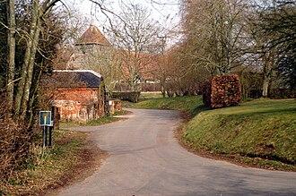 Michelmersh - Image: Church Road Michelmersh
