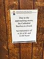 Church is closed due to Hurricane Lane (43869928234).jpg
