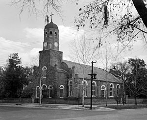 Prince George Winyah Episcopal Church - Image: Church of Prince George Winyah, Broad & Highmarket Streets, Georgetown, Georgetown County, SC 149900pr