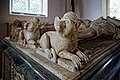Church of St Andrew's, Boreham, Essex - Earls of Sussex tomb chest 2.jpg