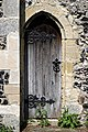 Church of St Mary the Virgin, Eastry, Kent - chancel south door.jpg