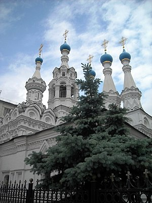 Church of the Nativity of the Blessed Virgin in Putinki, 2010 02.jpg, автор: Elisa.rolle