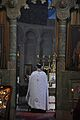 Church service in Svetitskhoveli cathedral. 2011.jpg