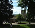 Church tower from the Castle grounds - geograph.org.uk - 781686.jpg