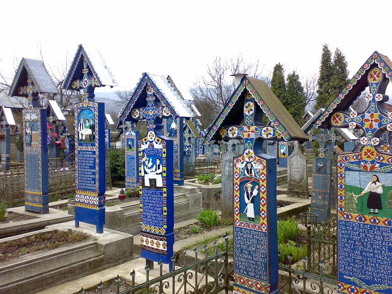 Cimitirul Vesel - cemenerio de la alegría