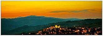 Circello - Image: Circello Circello at sunset (29293893745)