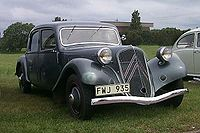 Citroën Traction Avant 1934