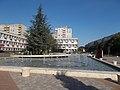 City Court and fountain, 2017 Dunaújváros.jpg