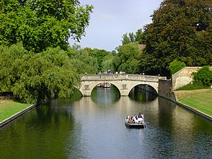 River Cam - View north from King's College bridge