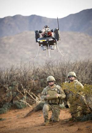 Honeywell RQ-16 T-Hawk - RQ-16 in use on the field