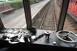 British Rail Class 108 - Image: Class 108 driver's cab