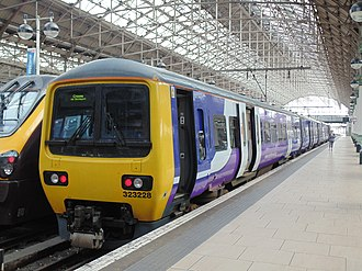 Transport for Greater Manchester - Image: Class 323 Manchester Piccadilly