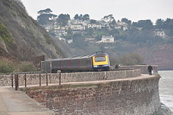 Class 43 on the sea wall at Teignmouth (0108).jpg