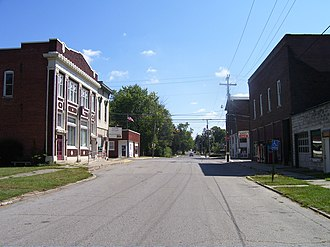 Spiceland, Indiana - Spiceland Downtown