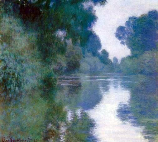 Claude Monet - Branch of the Seine near Giverny