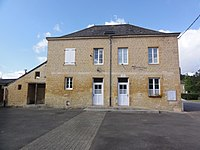 Clavy-Warby (Ardennes) la mairie à Clavy.JPG