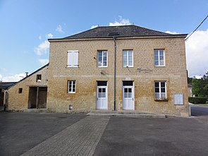 Clavy-Warby (Ardennes) la mairie à Clavy.JPG